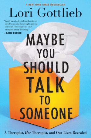 شاید باید با کسی حرف بزنی